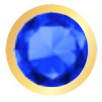 Blu - Finitura Oro